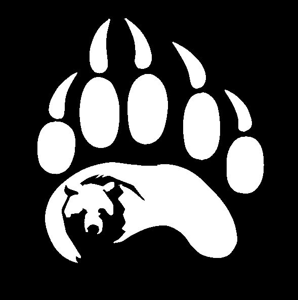 Bear Paw2 Decal